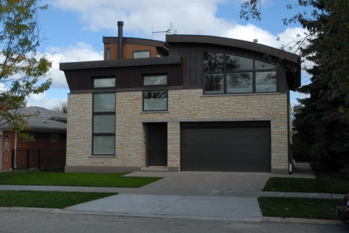 Helenowski leed platinum gut rehab showcases urban zero for Leed certification for homes