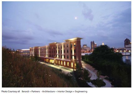 LEED Platinum Midrise in Columbus, OH