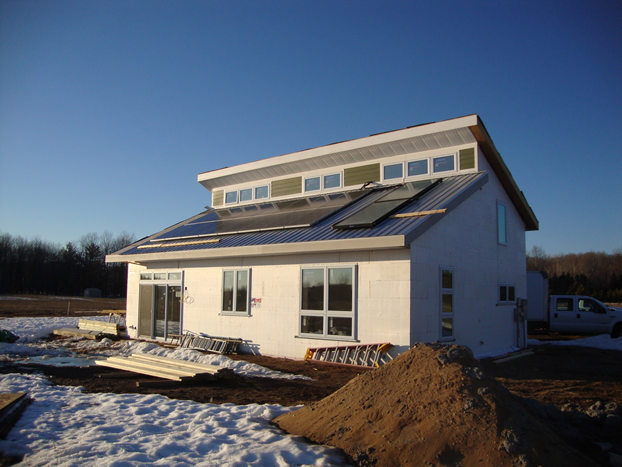 Michigan home on track for leed platinum certification for Leed home certification