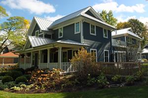 Glencoe, IL LEED Platinum exterior
