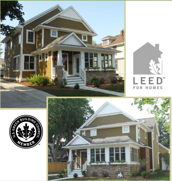 High performance cottage home builder builds his own home for Leed for homes provider