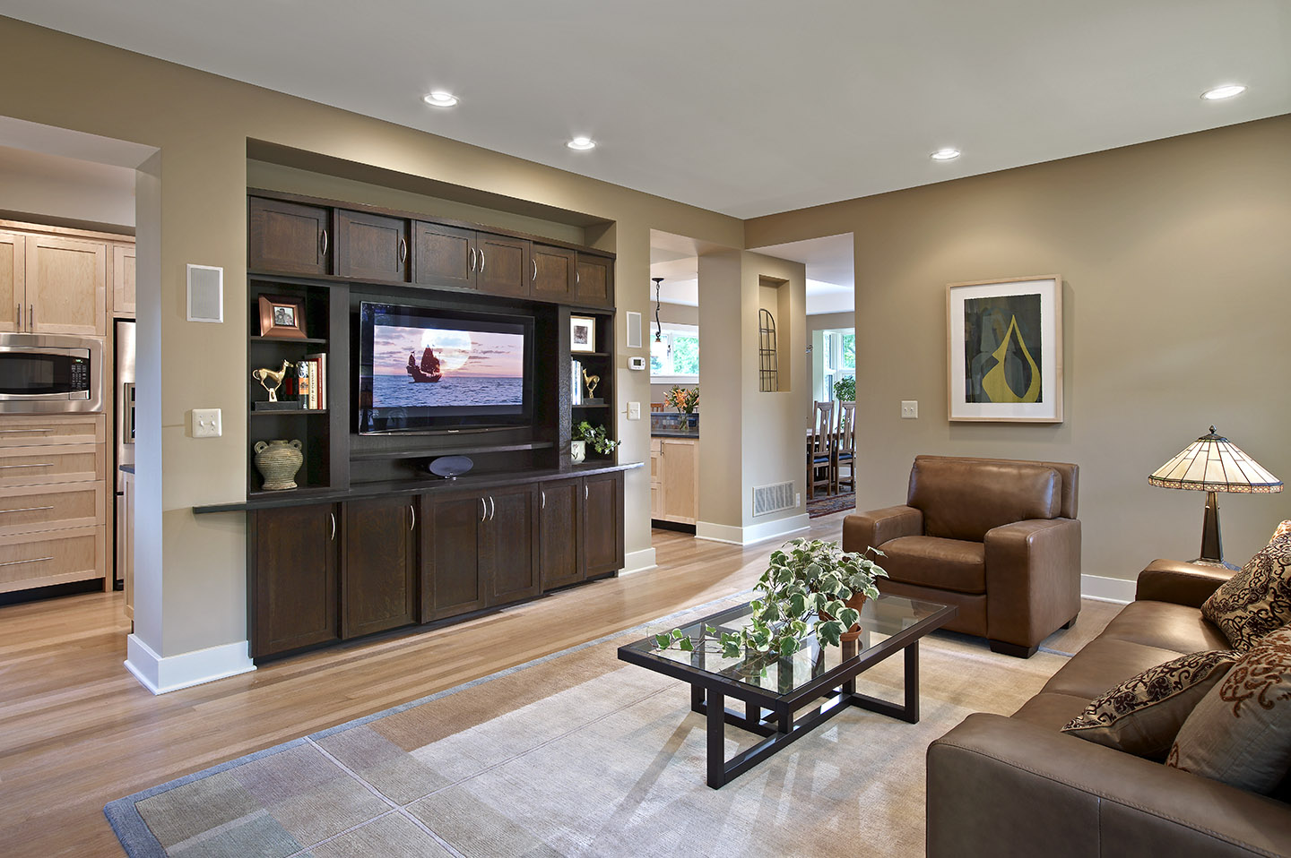 Homeowner of 1st leed certified home in ann arbor tells - Best paint finish for living room ...