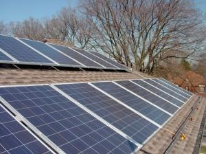 Oak Park Solar PV panels