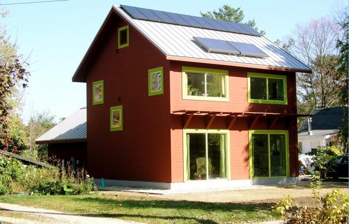 Zero Energy Capable GreenHome Institute