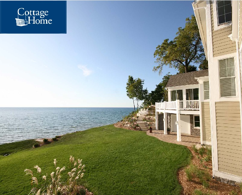 Cottage Home Sets New Standard For Sustainable Lakefront