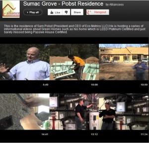 Sumac Grove Pobst Residence LEED Platinum Home