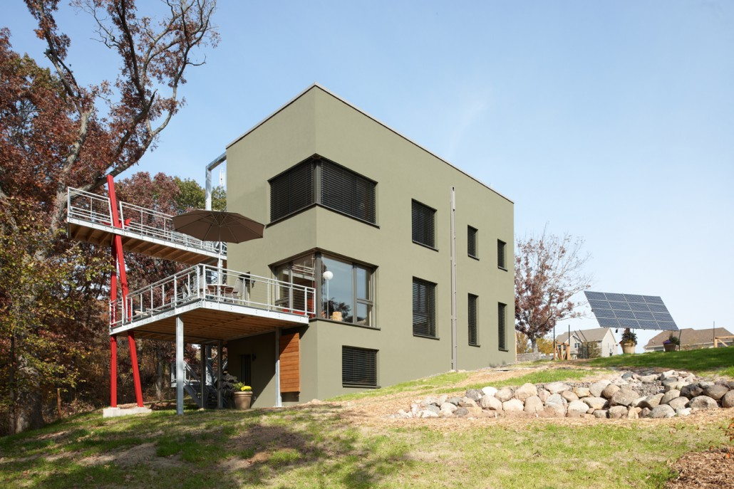 Passive House in the Woods GreenStar Gold GreenHome Institute – Rottlund Homes Floor Plans