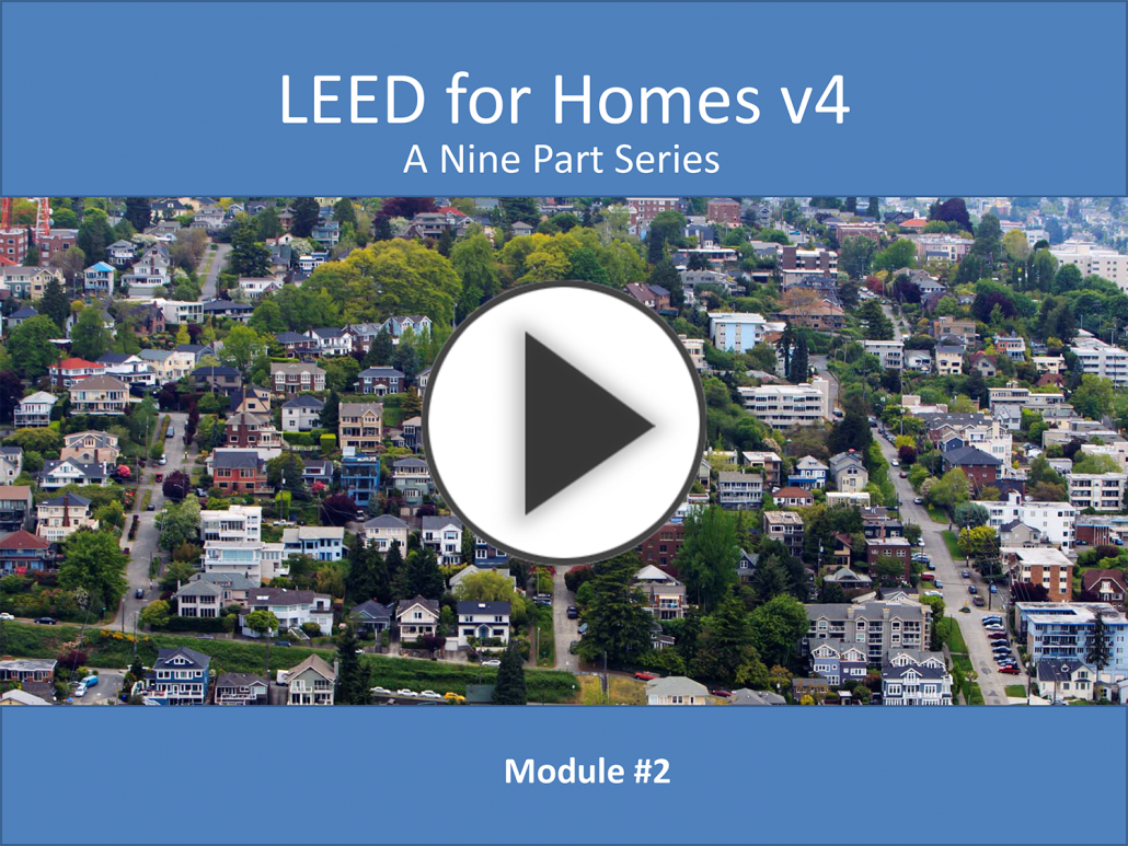 Mod 2 Sustianable Sites Leed V4 For Homes Quiz