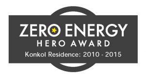 Zero Energy Hero Award Konkol Residence