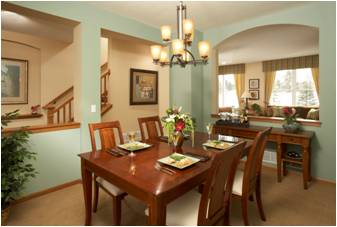 Rottlund Homes Dining Room Picture
