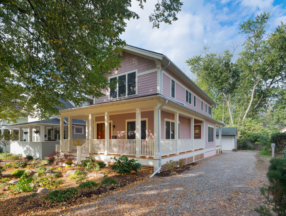 Leff project leed platinum single family greenhome for Leed platinum home