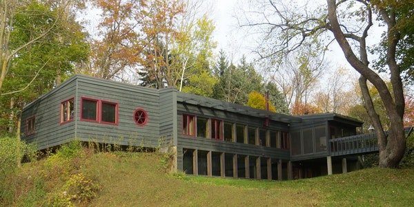 Tour Of A West Michigan Passive Solar Earth Sheltered Green Roof