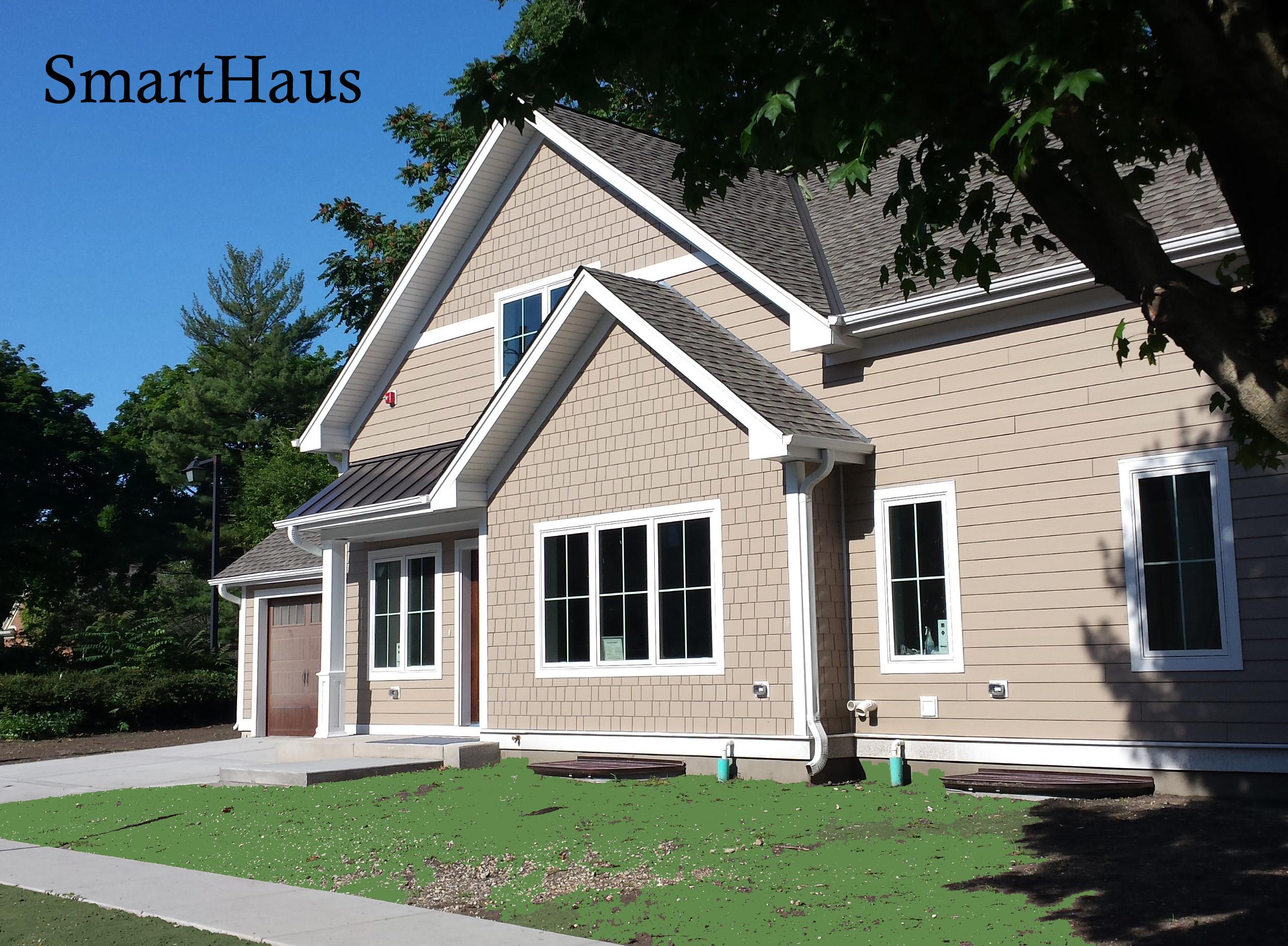 Leed platinum gold smarthaus duplex greenhome institute for Leed platinum home