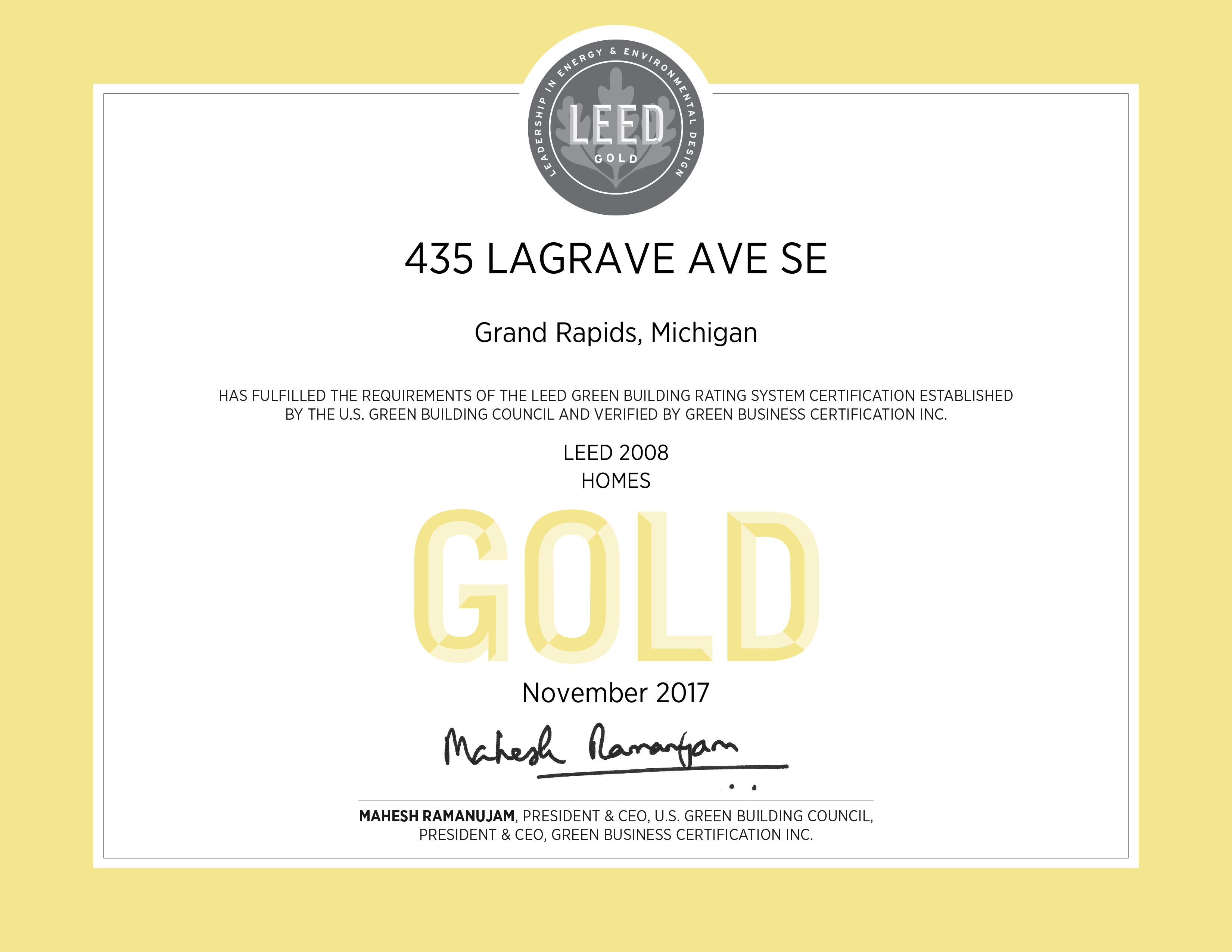 435 Lagrave Apartments At Tapestry Square Goes Leed Gold Certified